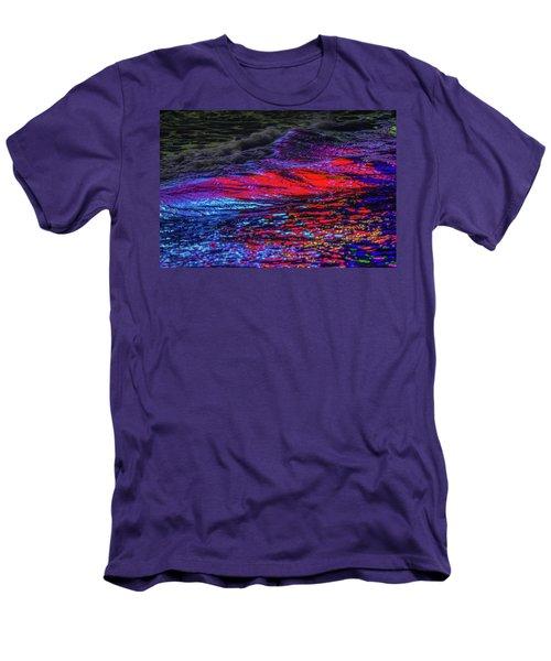 Oceans 2  Men's T-Shirt (Athletic Fit)