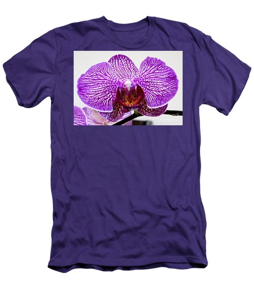 Orchid Men's T-Shirt (Slim Fit) by Tim Townsend