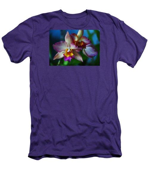 Orchids - Trio Men's T-Shirt (Slim Fit) by Kerri Ligatich