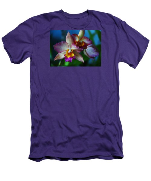 Orchids - Trio Men's T-Shirt (Athletic Fit)