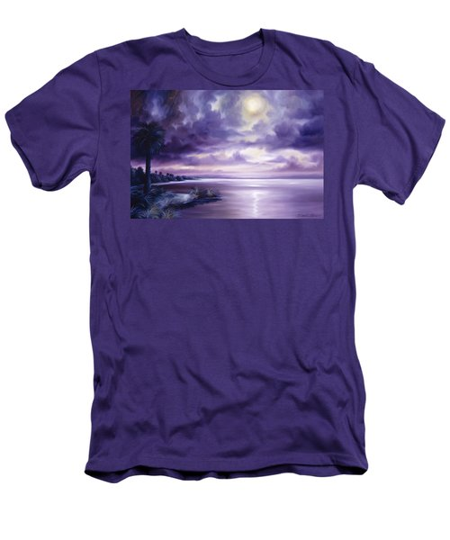 Palmetto Moonscape Men's T-Shirt (Athletic Fit)