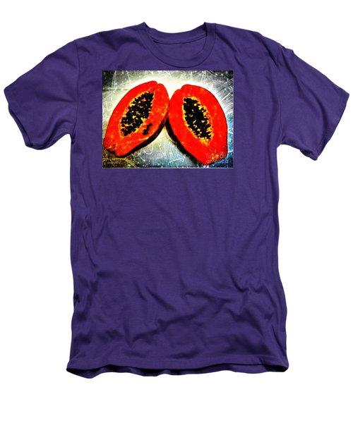Papaya On My Mind Men's T-Shirt (Athletic Fit)