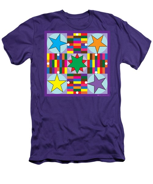 Parcheesi Board Men's T-Shirt (Slim Fit)