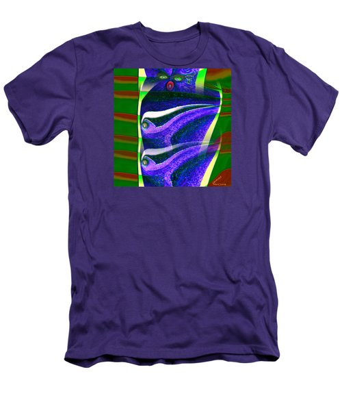 Pattern 308 _ Viewer Men's T-Shirt (Athletic Fit)
