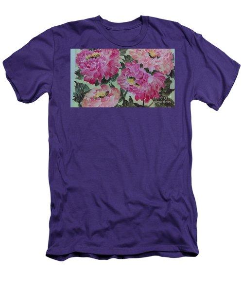 Peoney20161229_4 Men's T-Shirt (Athletic Fit)