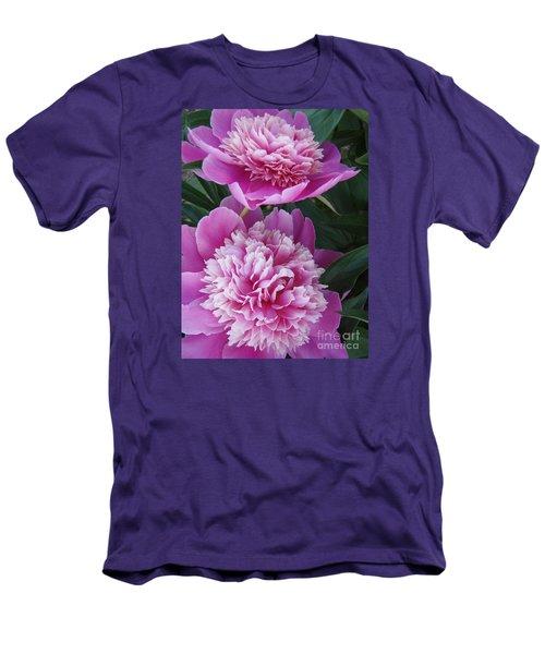 Peony Men's T-Shirt (Slim Fit) by Kristine Nora