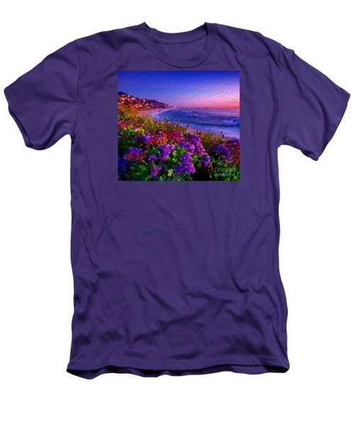 Perfect Sunset Men's T-Shirt (Slim Fit) by Anthony Fishburne