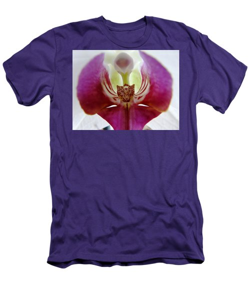Phalaenopsis Orchid Detail Men's T-Shirt (Athletic Fit)