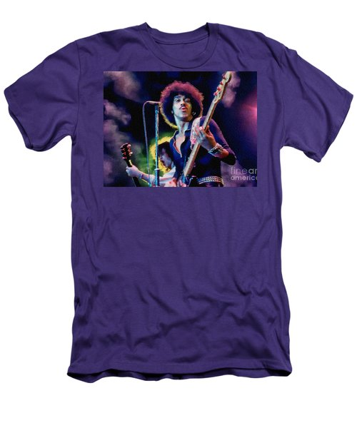 Phil Lynott - Thin Lizzy Men's T-Shirt (Athletic Fit)