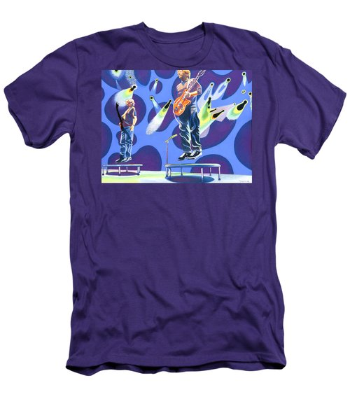 Phish Tramps Men's T-Shirt (Slim Fit) by Joshua Morton