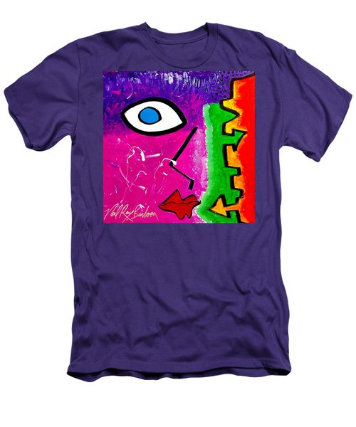 Pink Is The New Blue Men's T-Shirt (Athletic Fit)