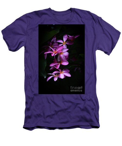 Plumeria Light Men's T-Shirt (Slim Fit) by Kelly Wade