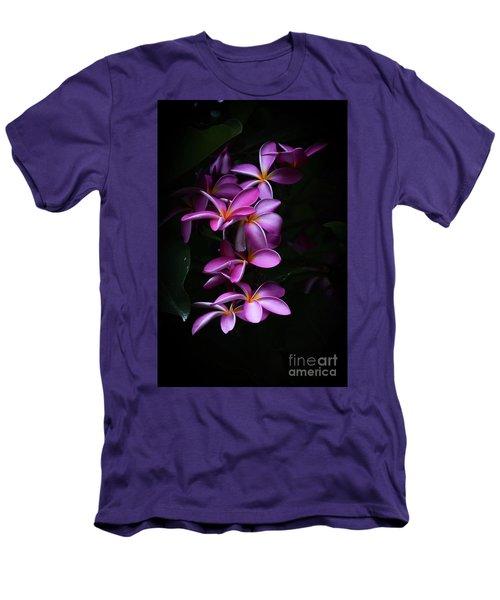 Plumeria Light Men's T-Shirt (Athletic Fit)