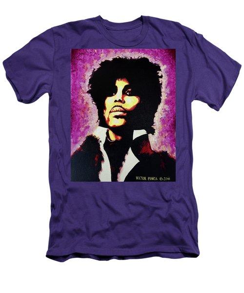 Prince Men's T-Shirt (Slim Fit) by Victor Minca
