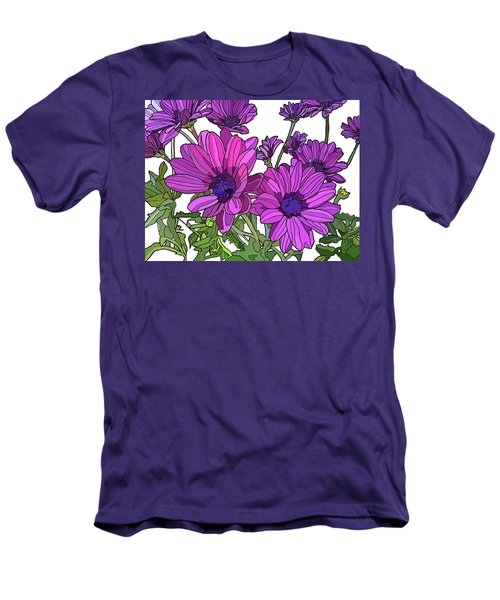 Purple Days Men's T-Shirt (Slim Fit) by Jamie Downs