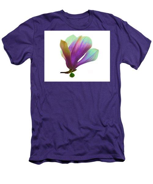 Purple Magnolia Men's T-Shirt (Athletic Fit)