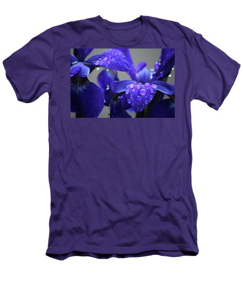 Men's T-Shirt (Slim Fit) featuring the photograph Purple Passion by Rowana Ray