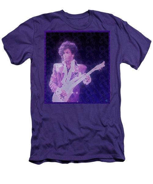 Purple Reign Men's T-Shirt (Slim Fit) by Kenneth Armand Johnson