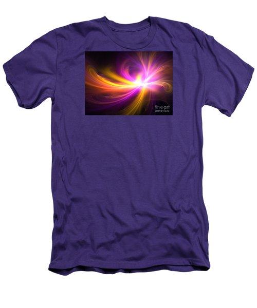 Quasi-stellar Men's T-Shirt (Slim Fit) by Kim Sy Ok