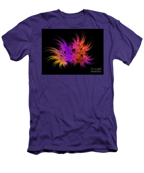 Rainbow Bouquet Men's T-Shirt (Athletic Fit)