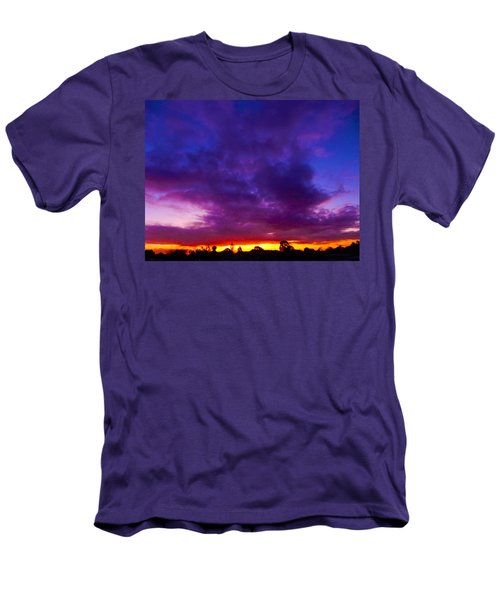 Rainbow Sunset Men's T-Shirt (Slim Fit) by Mark Blauhoefer