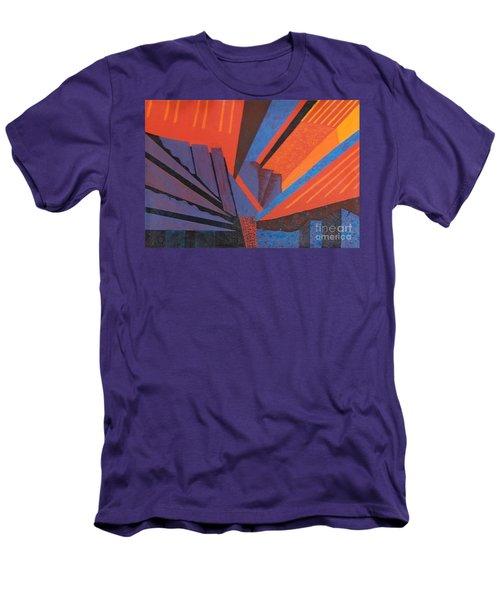Rays Floor Cloth - Sold Men's T-Shirt (Slim Fit) by Judith Espinoza