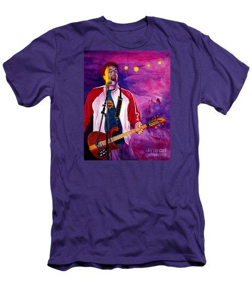 Rock On Tom Men's T-Shirt (Slim Fit) by Nancy Cupp