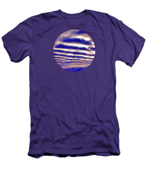 Rows Of Clouds Men's T-Shirt (Athletic Fit)