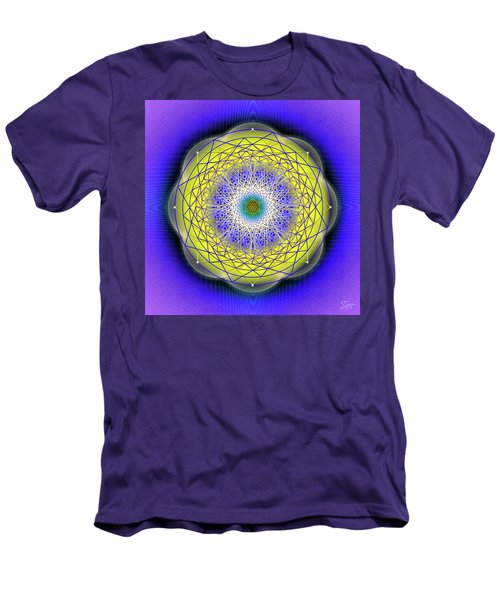 Sacred Geometry 655 Men's T-Shirt (Athletic Fit)