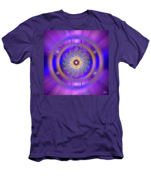 Sacred Geometry 658 Men's T-Shirt (Athletic Fit)