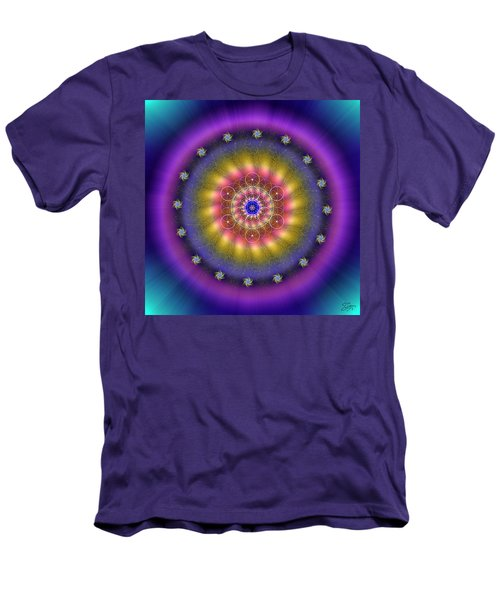 Sacred Geometry 659 Men's T-Shirt (Athletic Fit)
