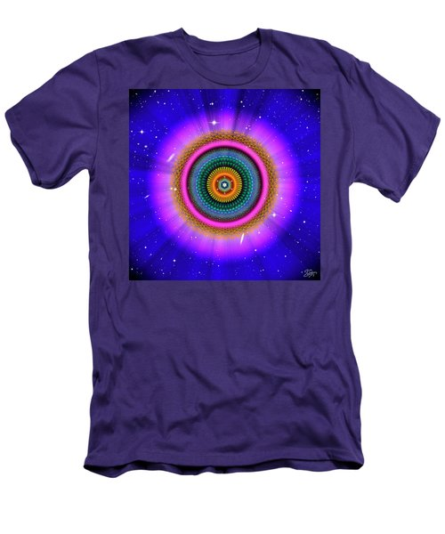 Sacred Geometry 660 Men's T-Shirt (Athletic Fit)