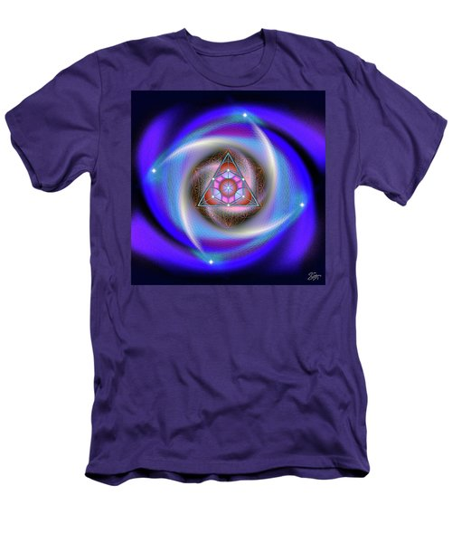 Sacred Geometry 687 Men's T-Shirt (Athletic Fit)