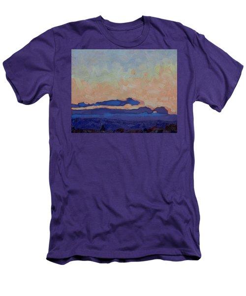Saturday Stratocumulus Sunset Men's T-Shirt (Athletic Fit)