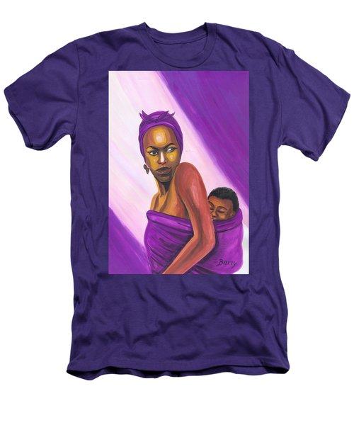 Senegalese Woman Men's T-Shirt (Athletic Fit)