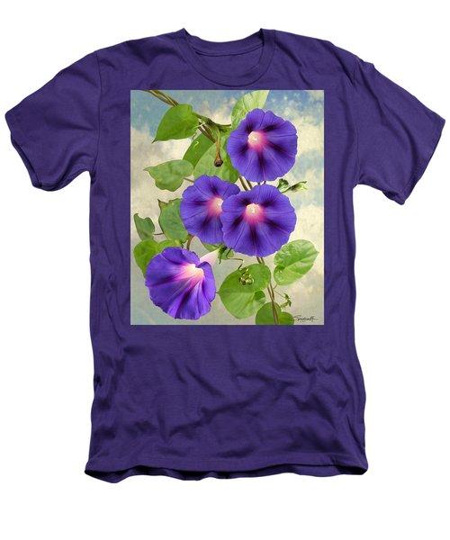 September Morning Glory Men's T-Shirt (Athletic Fit)