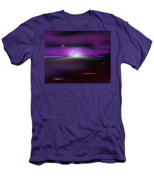 Shining Star Men's T-Shirt (Slim Fit) by Yul Olaivar