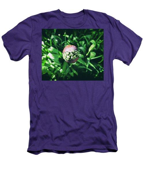 Smile Men's T-Shirt (Slim Fit) by Karen Stahlros