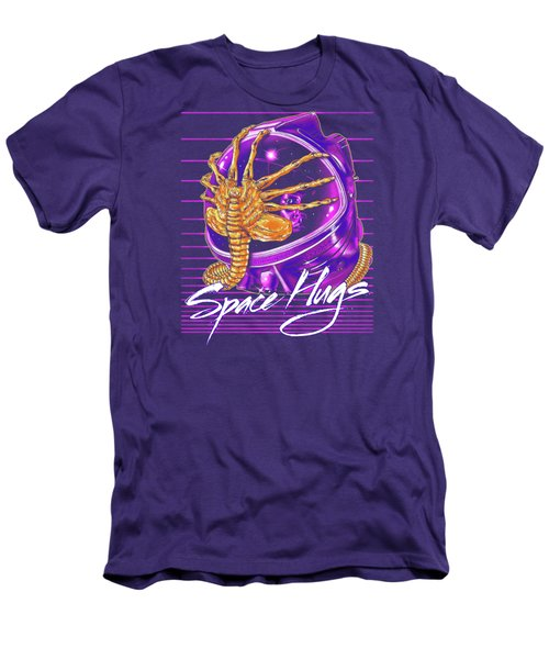 Space Hugs Men's T-Shirt (Athletic Fit)