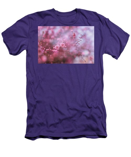 Spring Blossoms In Their Beauty Men's T-Shirt (Athletic Fit)