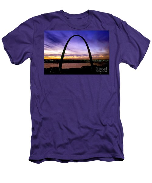 St. Louis, Missouri Men's T-Shirt (Slim Fit) by Wernher Krutein