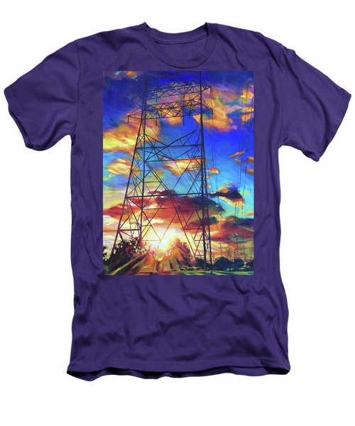 Stand Tall Men's T-Shirt (Slim Fit) by Bonnie Lambert