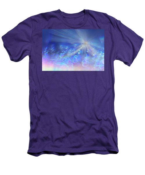 Men's T-Shirt (Athletic Fit) featuring the photograph Star And Bubbles by Greg Collins