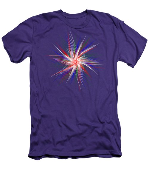 Star In Motion By Kaye Menner Men's T-Shirt (Slim Fit) by Kaye Menner