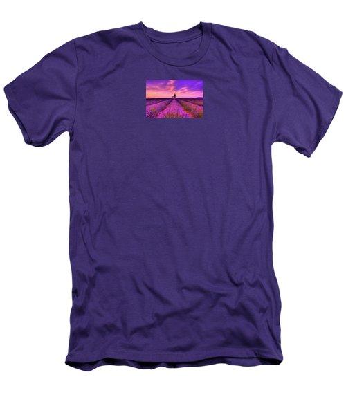 Sunset Blues Men's T-Shirt (Athletic Fit)