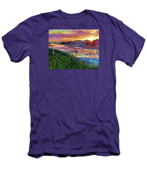 Sunset Creation Men's T-Shirt (Athletic Fit)