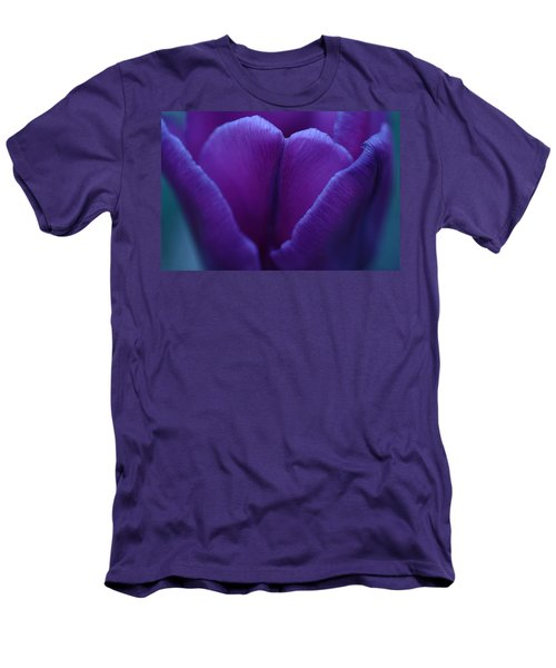 Sunset Flower Men's T-Shirt (Athletic Fit)