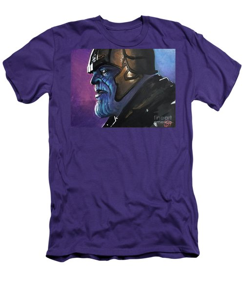 Thanos Men's T-Shirt (Slim Fit) by Tom Carlton