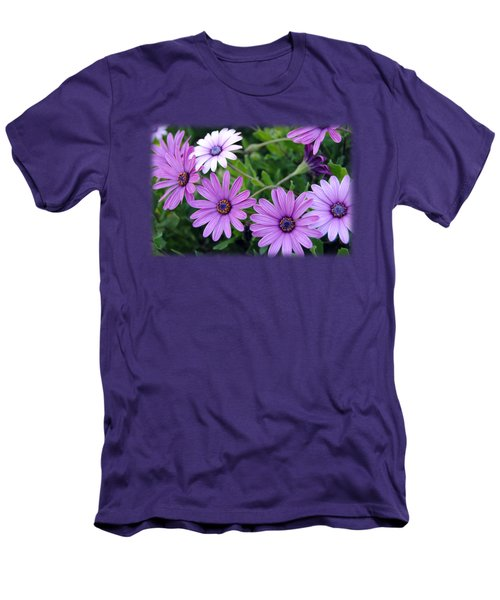 The African Daisy T-shirt 4 Men's T-Shirt (Slim Fit) by Isam Awad
