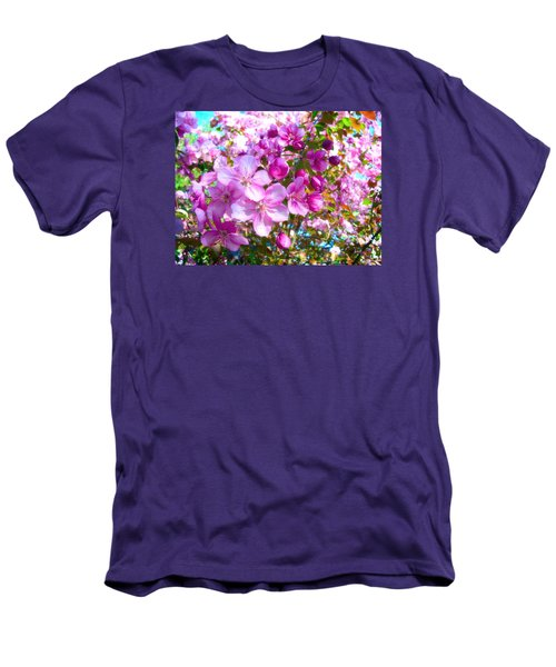 The Blossoms Of Spring Men's T-Shirt (Athletic Fit)